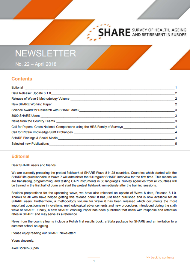 SHARE Newsletter No 22